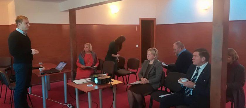 Suteiktos žinios Panevėžio VVG valdymo organų nariams ir darbuotojams