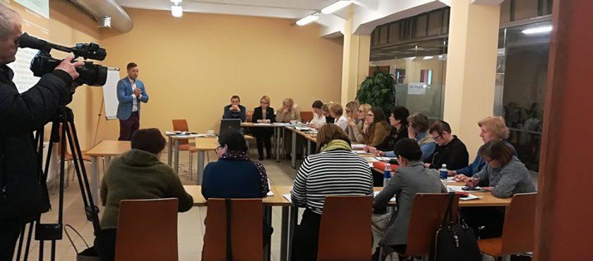 Įvyko mokymai potencialiems vietos plėtros projektinių pasiūlymų teikėjams